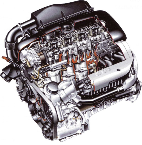 mercedes engines